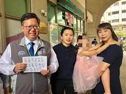 同婚新人登記 桃園市長鄭文燦給祝福