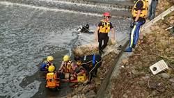 男子溪邊抓魚溺水 消防員救起無呼吸心跳