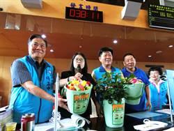 中市「綠圓寶」奇觀 生廚餘桶種花、當米桶