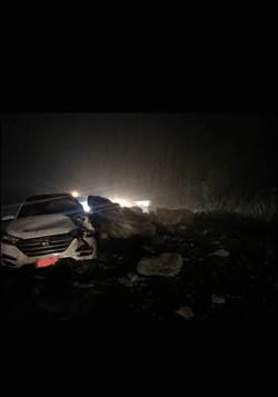 蘇花公路170公里落石砸車 恢復單線雙向通行