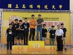 中科代表隊機器人足球賽 奪2019智慧機械運動賽冠軍