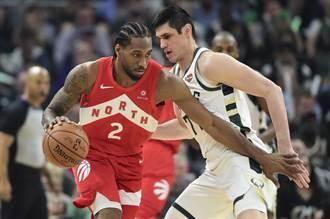 NBA》無視作客壓力 暴龍東決逆襲公鹿聽牌