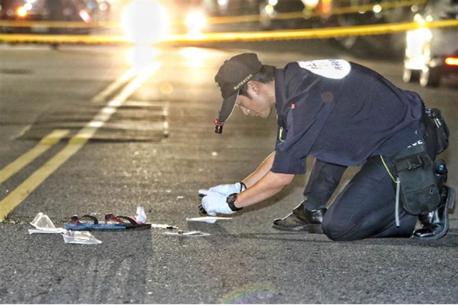 新北市汐止區福德一路凌晨發生槍擊,造成一人受傷。〈中時資料庫〉