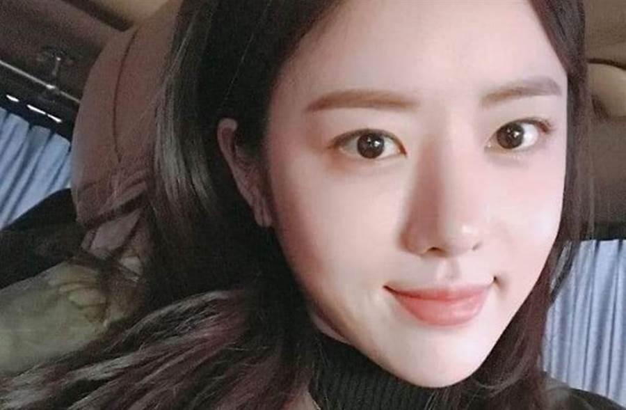韓國女星韓智善酒後痛毆司機還襲警。(圖/東網)