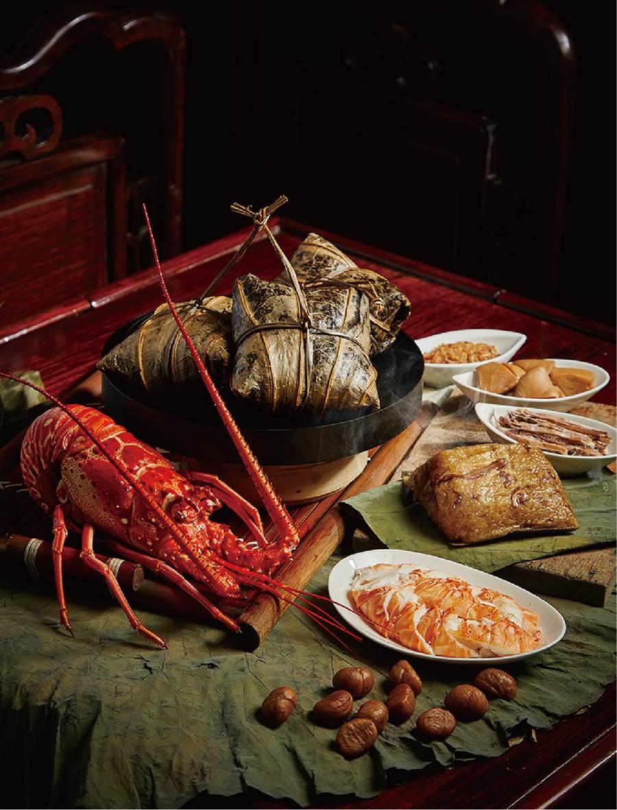 香格里拉台南遠東大飯店龍蝦海鮮粽