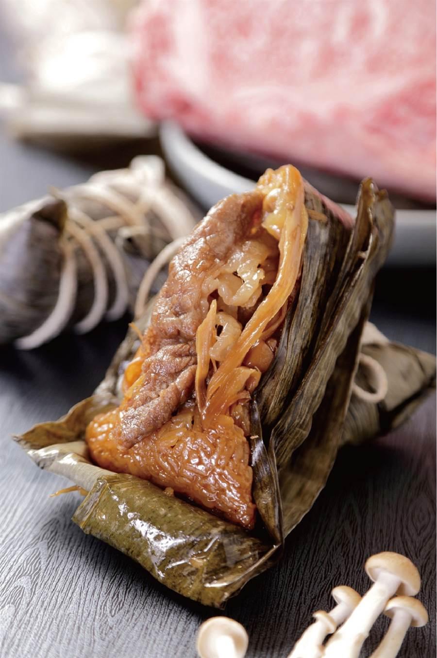 晶華酒店壽喜燒和牛粽禮盒