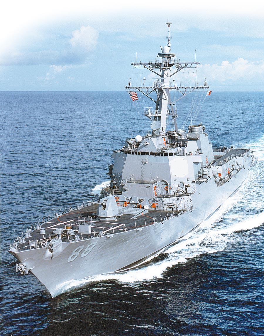 美軍普瑞布爾號驅逐艦。(取自美國海軍官網)