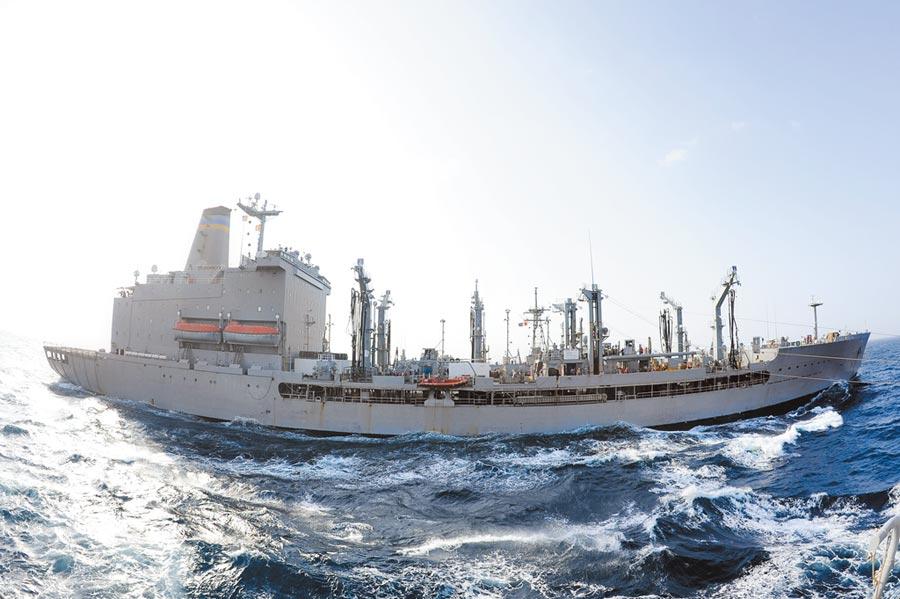 美軍狄爾號加油補給艦。(取自美國海軍官網)