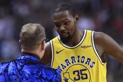 NBA》勇士總管:KD當面告知要走