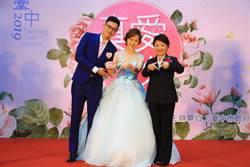 同婚也可參加聯合婚禮 盧秀燕:有人打聽要報名