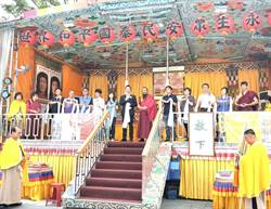 行動佛殿祈福走過三山 岡山壽天宮三山大會師藝文晚會齊歡唱
