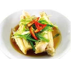 龍膽石斑魚佐時蔬