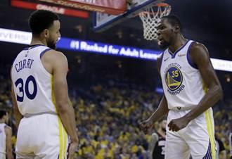 NBA》柯瑞回應KD:沒人奪走我們成就