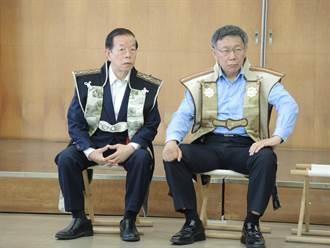 穿上日本「武士盔甲」 柯P被虧「要宣布出兵了嗎?」