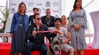 《好萊塢》奪狗界金棕櫚 昆丁親領「紅項圈」