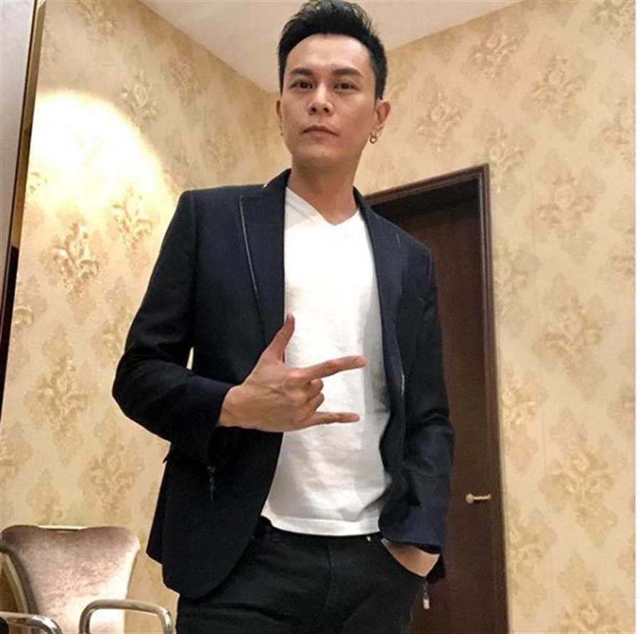 李天翔離開TVB後,考慮當健身教練。(取自李天翔IG)