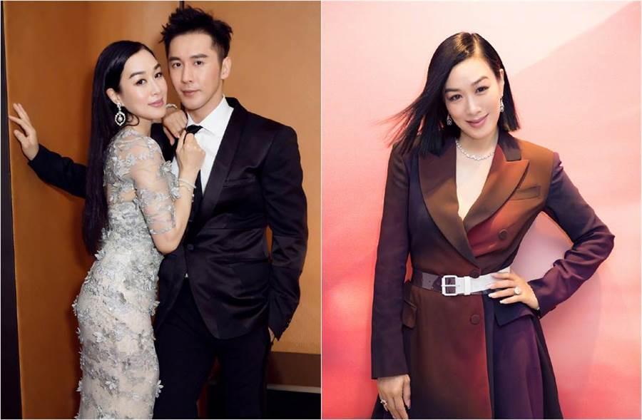 48歲鍾麗緹與小12歲的張倫碩是演藝圈模範夫妻代表。(圖/取材自鍾麗緹微博)