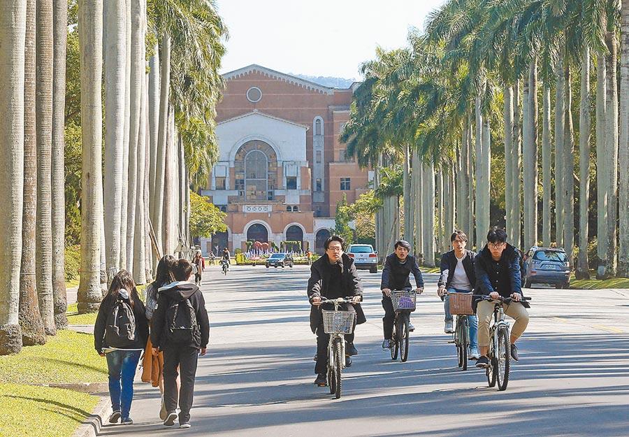 台灣房屋調查全台12所知名大學周邊租金行情,以台大居冠,周邊平均月租金約11521元。(趙雙傑攝)