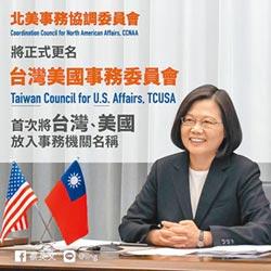 台美關係大突破!北協更名 台灣美國同框