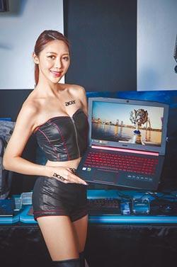 宏碁電競筆電Nitro 5有紅點加持