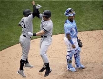 MLB》沃特回鄉敲致勝轟 洋基雙重賽全勝