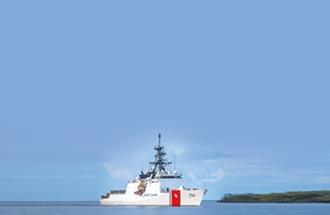 美海警船巡南海 陸空警-500盯梢
