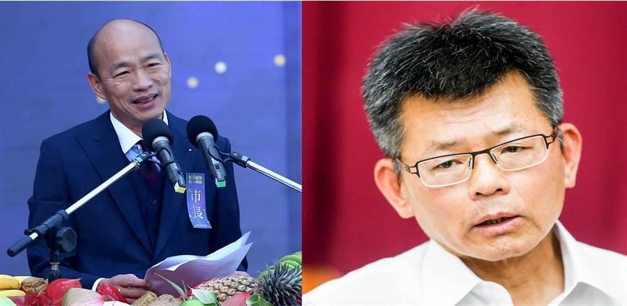 楊秋興表示既然韓要選總統,那兩人就不是朋友,引起韓粉不滿,怒轟到底是誰忘恩負義、恩將仇報? (圖/本報資料照)