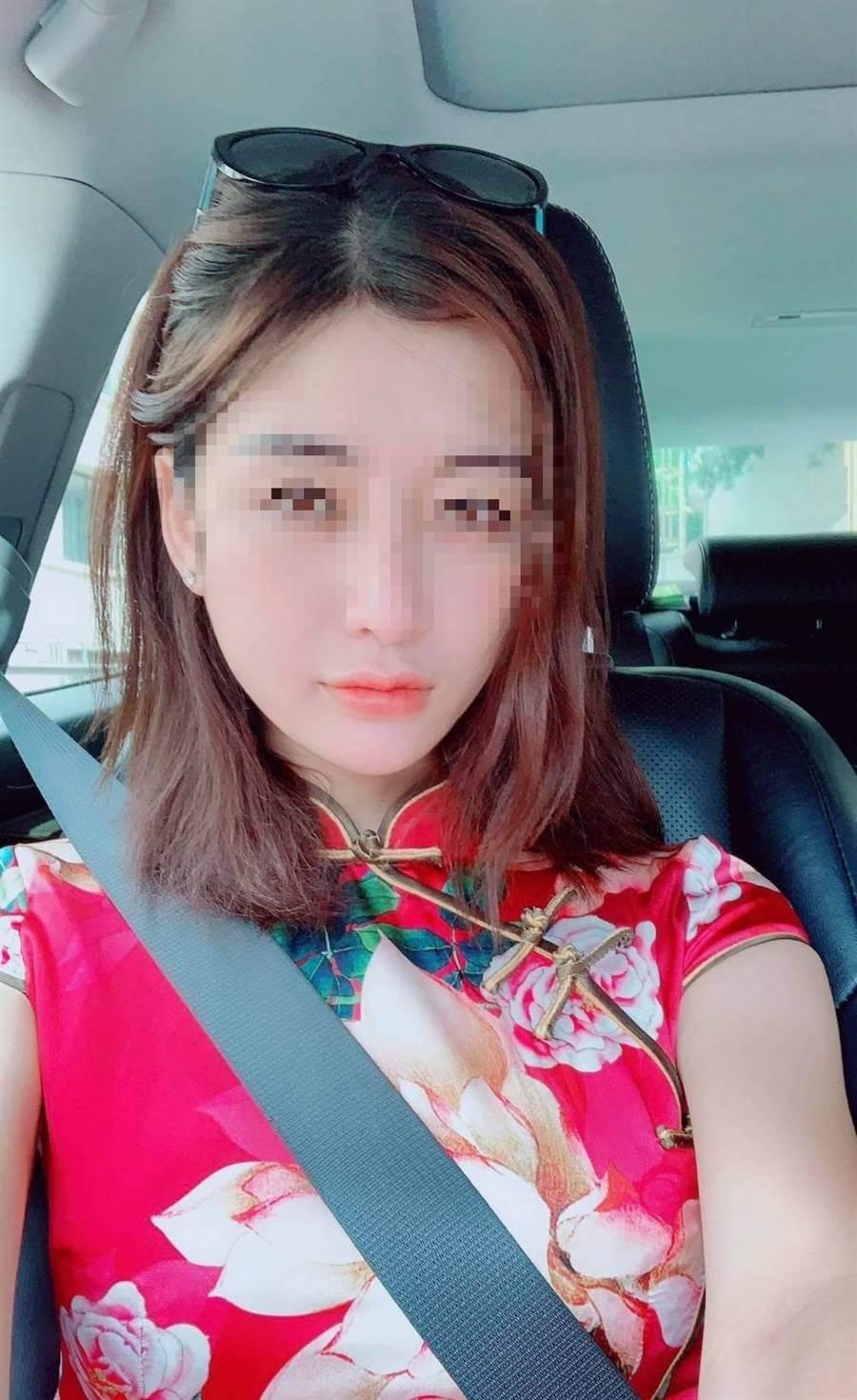 這名越籍女子小曼其實是變性人,還是名業餘模特兒,社群軟體上關注者不少。(翻攝照片)