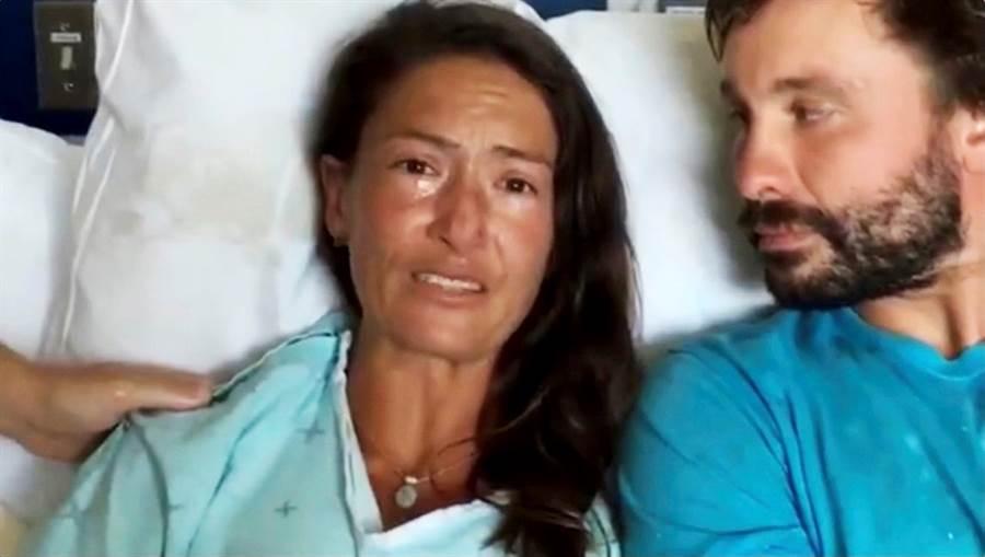 美國瑜珈女教師愛勒困在夏威夷森林長達17天,靠著吃蛾、睡豬窩及堅強的意志力存活下來。(圖/路透社)