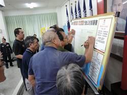 警六分局與南區44家宮廟簽署優質宮廟行動公約