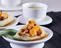 采采食茶雙干貝小口粿粽 搶端午送禮商機