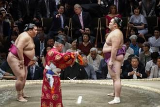 川普觀戰 日本大相撲收視飆升