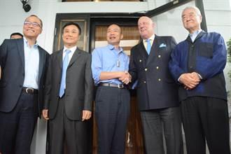 包道格拜會韓國瑜 避談2020選舉