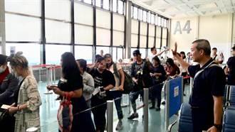 移民署今遣返40名非法外籍移工