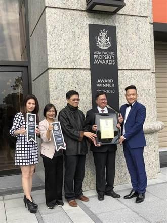 京懋建設 三度獲英國IPA建築獎