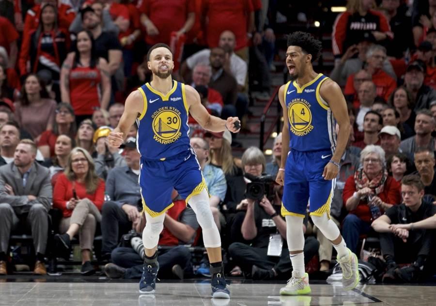 金州勇士隊輕鬆打進NBA總冠軍賽。(美聯社資料照)