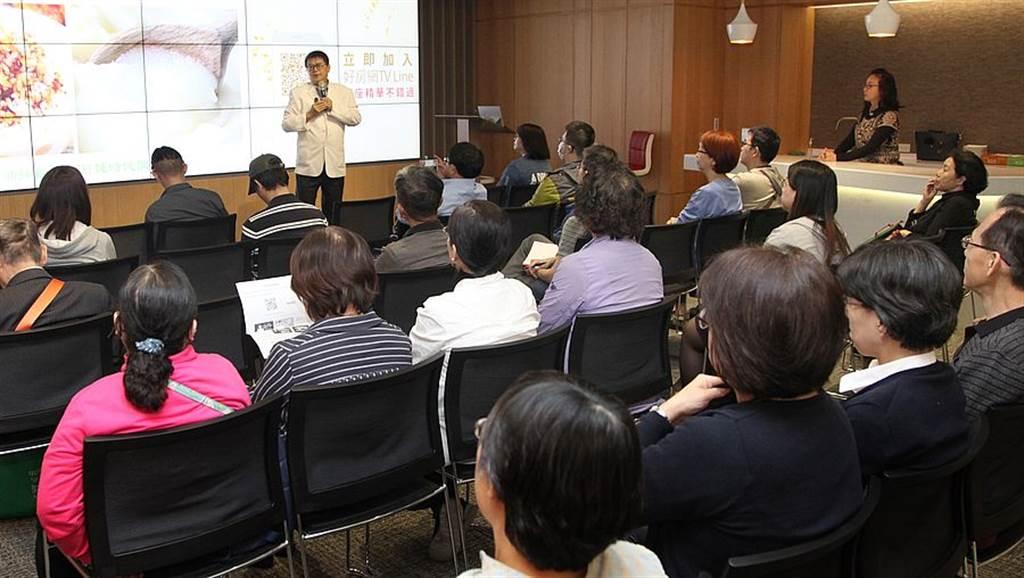 梁幼祥老師從成長的生活經驗中喚起聽眾對台灣美食文化記憶。