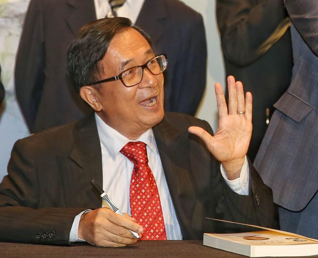 陳水扁(見圖)日前認為,政黨大輸地方選舉後,緊接著總統大選一定失利。 (圖/資料照片,王英豪攝)