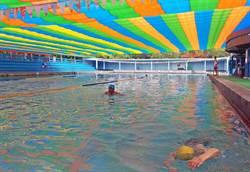 屏縣學校游泳池僅10座 國小選手克難練習