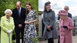 凱特此舉動引爭議!與女王招呼方式看出關係好壞