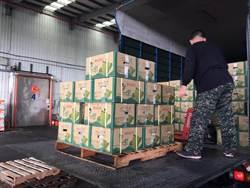 韓國瑜3月帶頭衝見成效 台灣水果進口香港大增