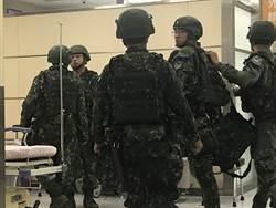 國軍漢光演習出包 湖口裝甲旅軍卡撞崗哨15傷