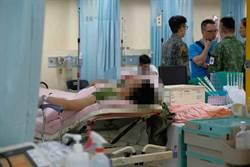 漢光演習出意外 受傷官兵陸續轉院