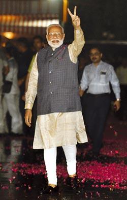莫迪連任 印度重啟成長動能