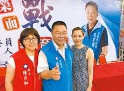 國民黨議員蔡育輝宣布參選立委