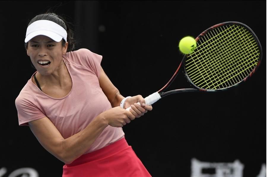 謝淑薇在伯明罕女網賽和捷克搭檔晉級四強。(資料照/美聯社)