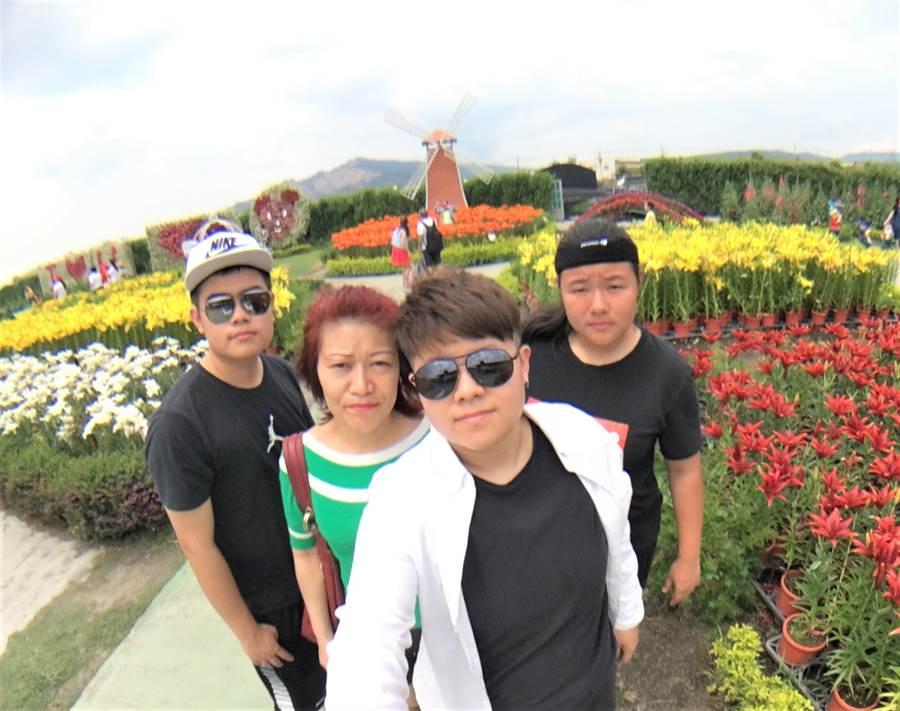工作之餘,林采萱除了打球,也常陪家人一同出外旅遊,樂享家庭生活。(圖/【山西福彩】房屋)