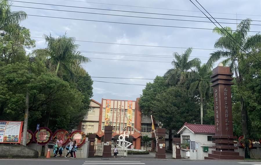 南崗國中校舍,即將拆除重建。(廖志晃攝)