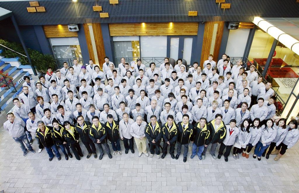 大信防水擁有超過百人的專業團隊,拓及全省北、中、南服務。圖/賴麗如