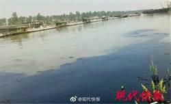 京杭大運河高郵段發生船隻漏油 汙染2公里水域